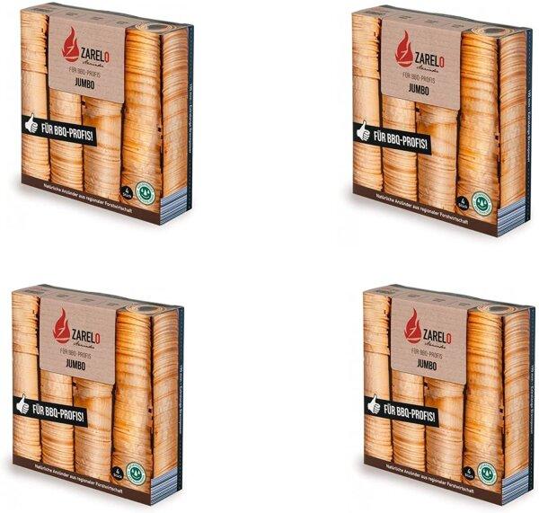 ZARELO JUMBO für BBQ-Profis 4 Stück